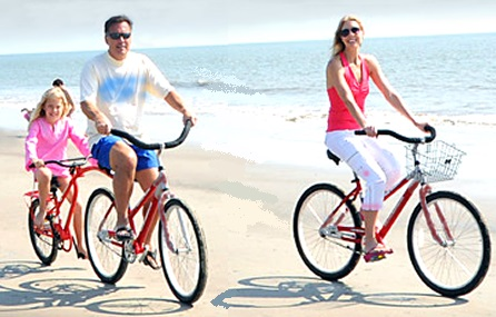 Beach Cruiser Rentals for the whole family