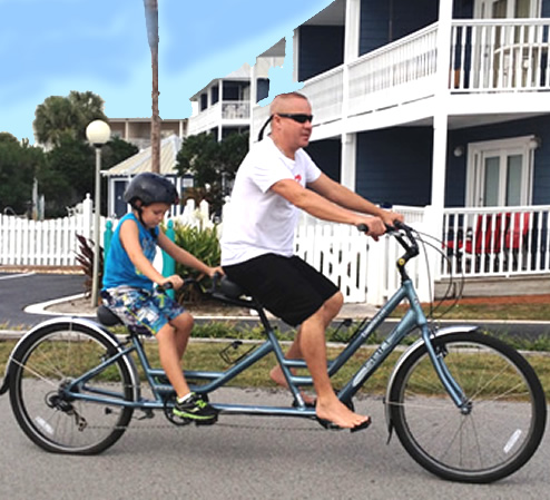 Tandem Bike Rentals in Miramar Beach Florida